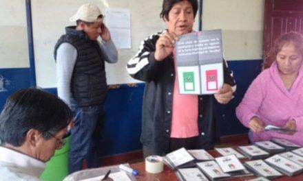 [Bolivia] Yacuiba dice No en el referendum para la aprobación de la Carta Orgánica Municipal