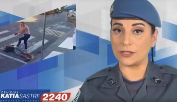 [Brasil] Justicia Electoral prohíbe propaganda de Katia Sastre por hacer uso de un arma de fuego