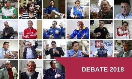 [Perú] Candidatos a Alcaldía de Lima debatirán públicamente sus propuestas este martes
