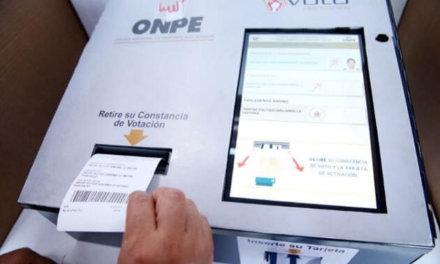 [Perú] ONPE activa simulador para practicar voto electrónico