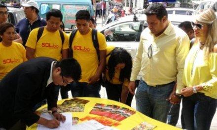 [Bolivia] TSE rechaza personería de Sol.Bo por observaciones en el registro de sus firmas