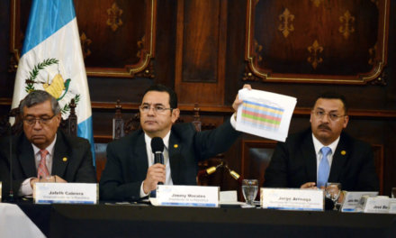 [Guatemala] TSE responde a las críticas de Jimmy Morales