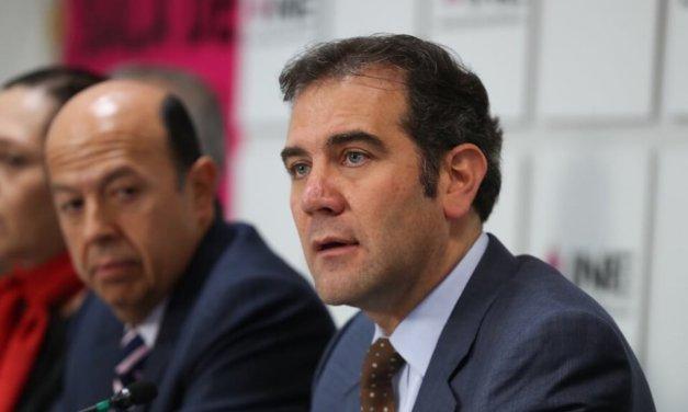 [México] Presidente del INE asegura un «sano diálogo procesal» con el TEPJF