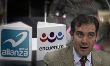 [México] INE ordena liquidación de partidos Nueva alianza y Encuentro social
