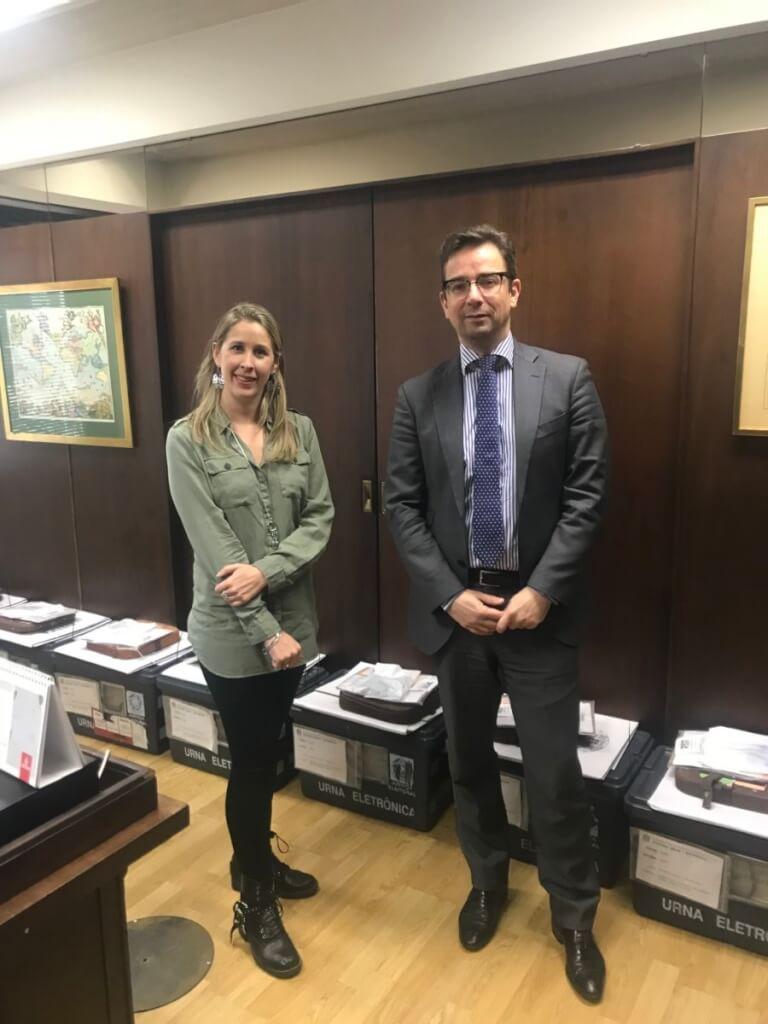 [Brasil] Consulado de Brasil recibió a Transparencia Electoral y detalló la participación electoral de los brasileros residentes en Argentina este 7 de octubre