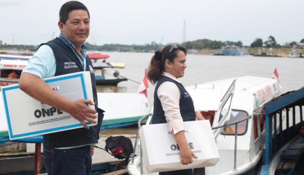 [Perú] JNE: «Material electoral ya llegó a todo el país»