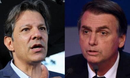 [Brasil] Encuesta MDA: Empate técnico entre Jair Bolsonaro y Fernando Haddad