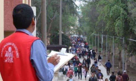 [Perú] JNE detecta 110 incidencias en elecciones regionales y municipales