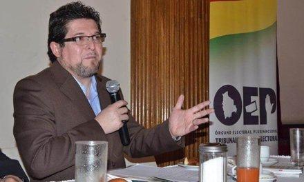 [Bolivia] Renunció José Luis Exeni, vicepresidente del TSE