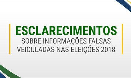[Brasil] TSE creó una página en su sitio web para aclara «fake news»