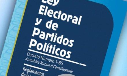 [Guatemala] Diputados no lograron aprobar propuesta para que el TSE no pueda cancelar partidos