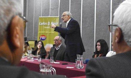 [Bolivia] Agrupaciones políticas hacen frente para «defensa del voto y para que el TSE acate los resultados del 21F»