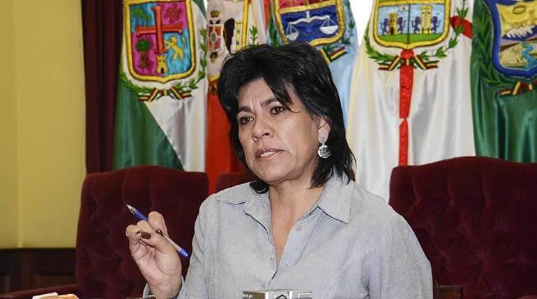 """[Bolivia] Renunció Katia Uriona, presidenta del Tribunal Supremo Electoral, al verse """"impedida"""" de cumplir con sus funciones"""