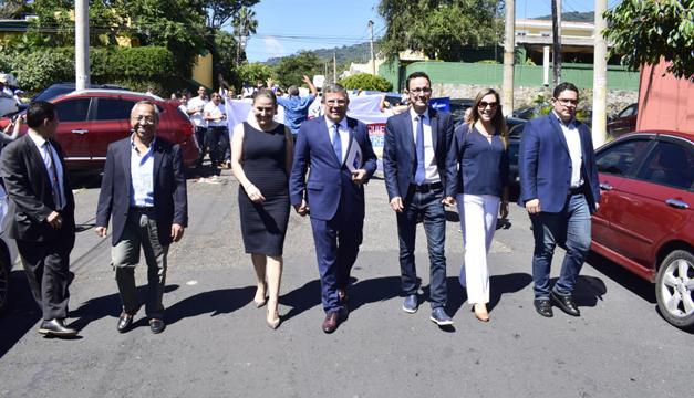 [El Salvador] Formula presidencial del partido VAMOS solicitó su inscripción en el TSE
