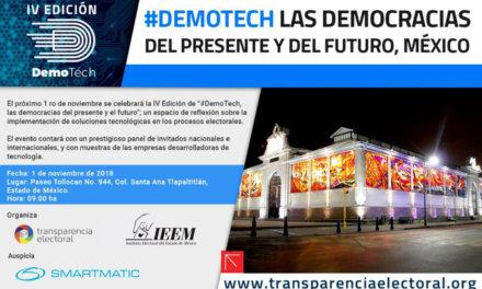 [México] Transparencia Electoral celebra junto al IEEM la IV Edición de #DemoTech en México