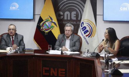 [Ecuador] CNE analiza reformas para aplicar a la ley electoral vigente