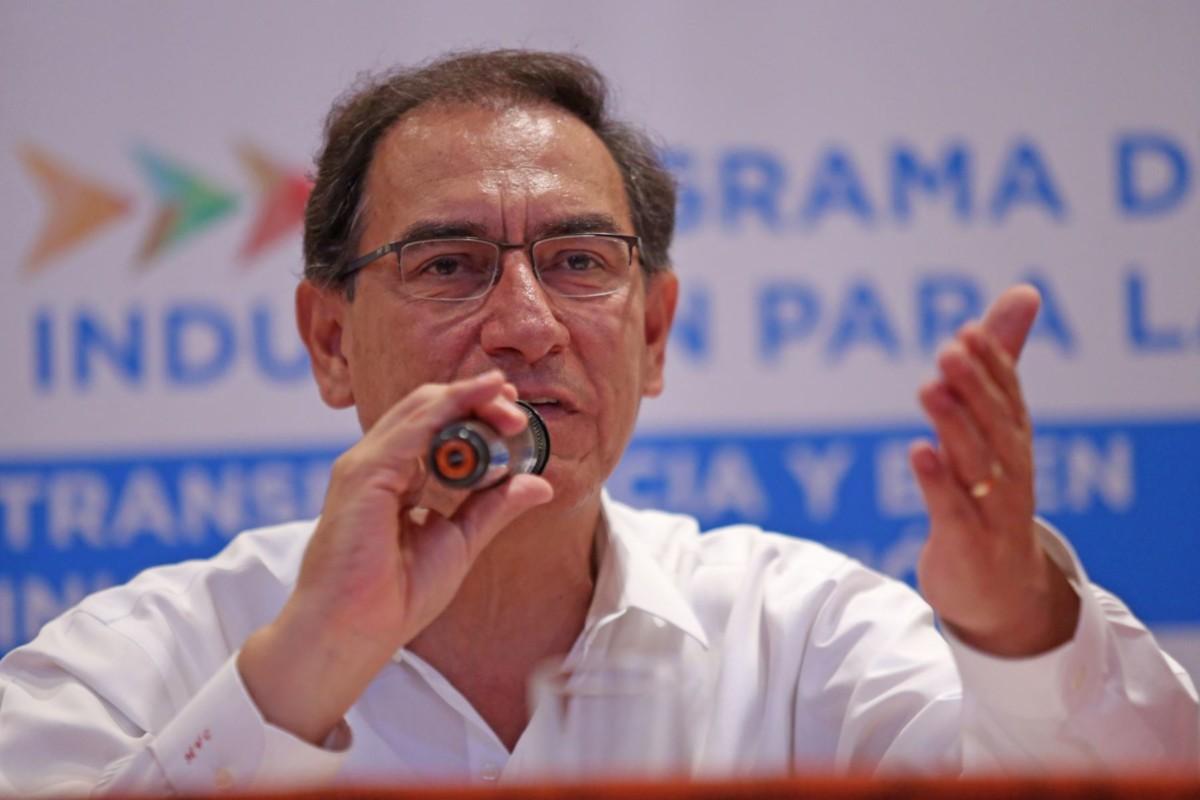 (Perú) Vizcarra: referéndum afianzará la democracia en el Perú