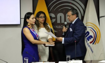 (Ecuador) Diana Atamaint designada presidenta del Consejo Nacional Electoral