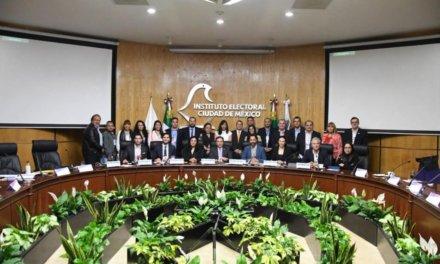 Transparencia Electoral firmó un convenio de colaboración con el Instituto Electoral de la Ciudad de México (IECM)