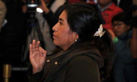 [Bolivia] Lidia Iriarte asume como vocal titular del Tribunal Supremo Electoral