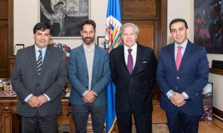 [Latam] El Secretario General de la OEA, Luis Almagro, recibió a la delegación de Transparencia Electoral