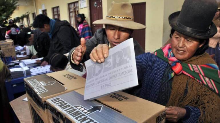 Resultado de imagen para TSE bolivia