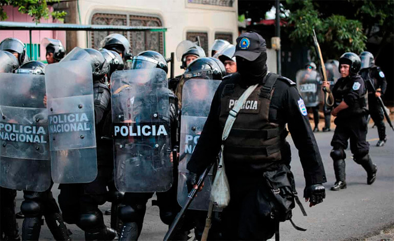 "(Nicaragua) CIDH denuncia ""consolidación de un Estado policial"" en Nicaragua"
