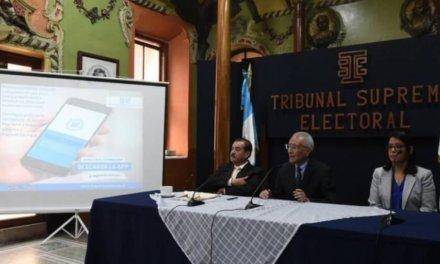 (Guatemala) TSE lanza aplicación para empadronar en el extranjero