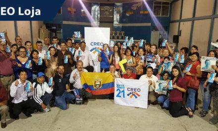 (Ecuador) CREO realizó primarias y espera inscribir candidaturas en Loja