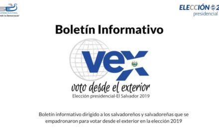 (El Salvador) Continúan votaciones de salvadoreños en el exterior por elecciones