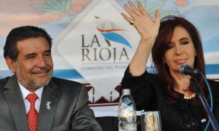 (Argentina) Cristina Fernández apoya a Beder Herrera contra el gobernador Casas de La Rioja