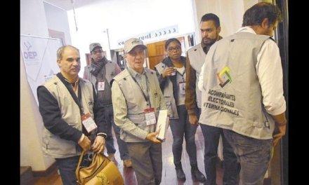 """(Bolivia) Misión de Observación de UNIORE: hay retos importantes en """"la depuración de lo que conlleva un padrón electoral nacional específicamente de militantes»."""