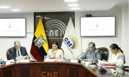 (Ecuador) CNE aprobó la asignación del fondo de promoción para elecciones seccionales