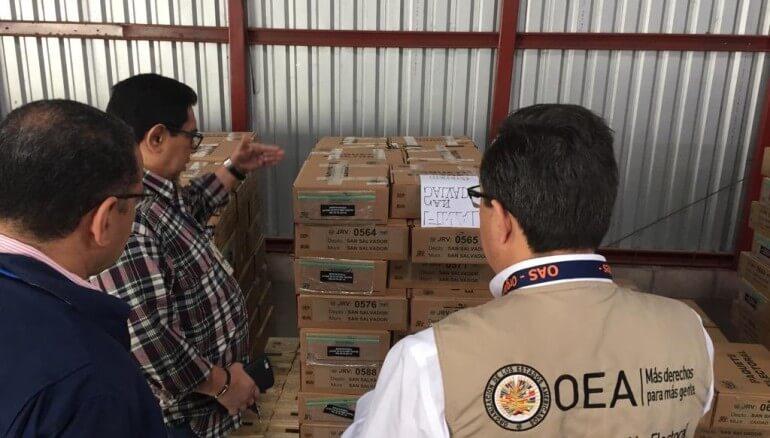 (El Salvador) 83 expertos provenientes de 24 países conforman la Misión de Observación Electoral de la OEA