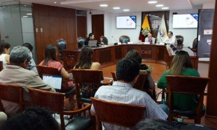 CNE realizó evaluación de avance del Calendario Electoral para las elecciones 2019