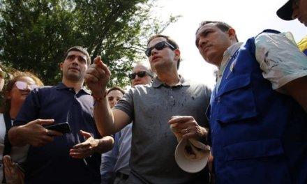 (Venezuela) Diputados a la Asamblea Nacional acompañaron a Marco Rubio a la frontera colombo-venezolana