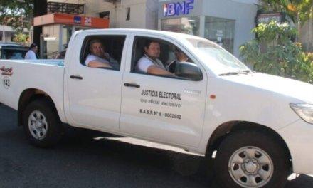 (Paraguay) Enviaron maletines electorales para Elecciones Municipales en Puerto Adela