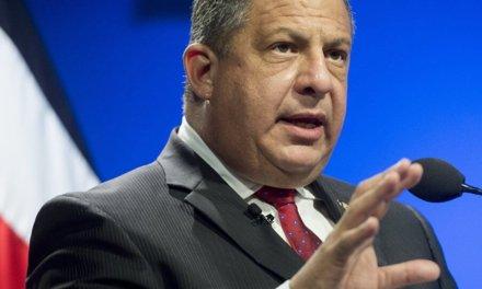 (Guatemala) OEA designa al expresidente Solís como jefe de la misión electoral para Guatemala