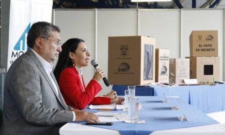 (Ecuador) CNE inició el envío de los paquetes electorales