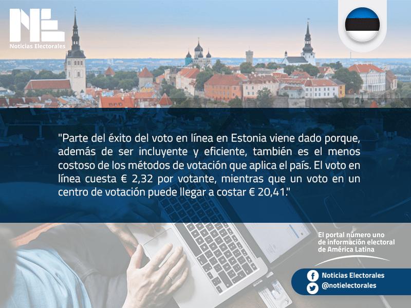 Estonia, el pequeño gigante del voto en línea