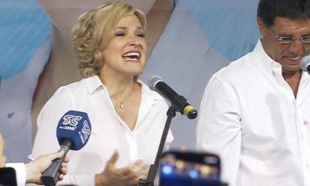 (Ecuador) Cynthia Viteri ya celebra su triunfo como Alcaldesa de Guayaquil