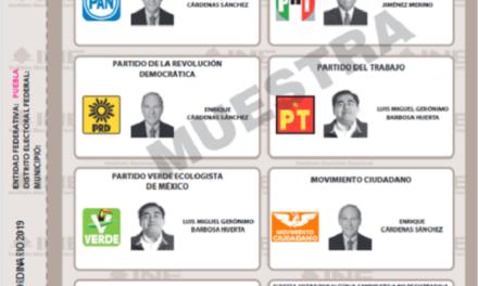 (México) INE aprueba modificaciones a boleta electoral y documentación de la Elección Extraordinaria de Puebla