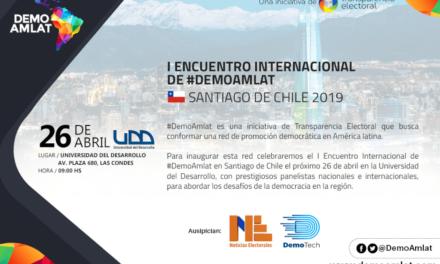 #DemoAmlat anuncia su I Encuentro Internacional en Santiago de Chile este 26 de abril