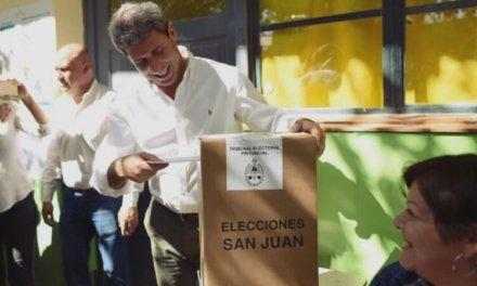 (Argentina) Sergio Uñac ganó las PASO de San Juan con más del 55% de los votos