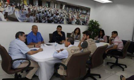 (Panamá) Personal de la Misión de Observación Electoral de la OEA se reunión con el Tribunal Electoral