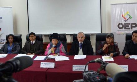 (Bolivia) Tribunal Supremo Electoral (TSE) convocó las Elecciones Generales que se realizarán el 20 de octubre