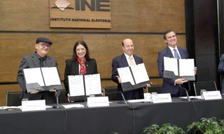 (México) INE e Iniciativa Ciudadana celebran convenio para la promoción del voto desde el exterior