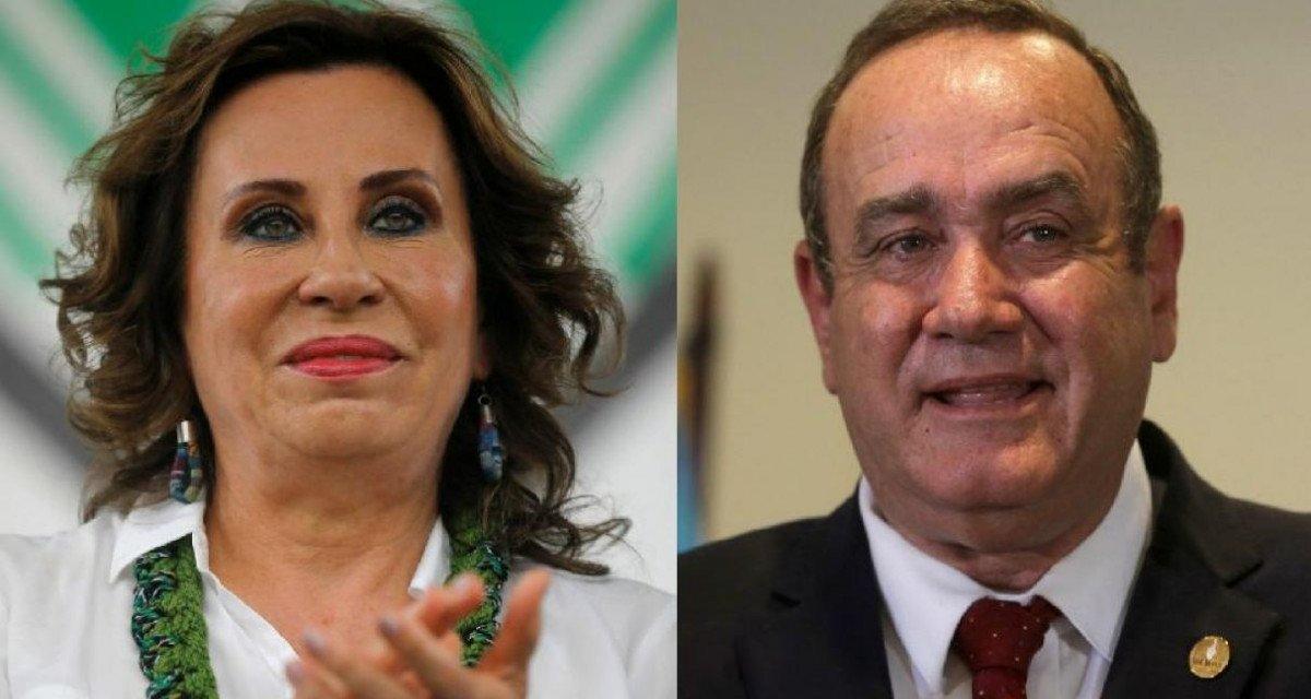 (Guatemala) Sandra Torres y Alejandro Giammattei disputarán segunda vuelta en Guatemala
