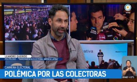 (Argentina) Leandro Querido, Director Ejecutivo de Transparencia Electoral: «Las listas colectoras son un problema»