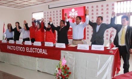 (Perú) ORGANIZACIONES POLÍTICAS FIRMARON PACTO ÉTICO ELECTORAL DEL JNE